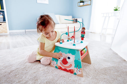 Hape | Light-Up Circus Activity Cube