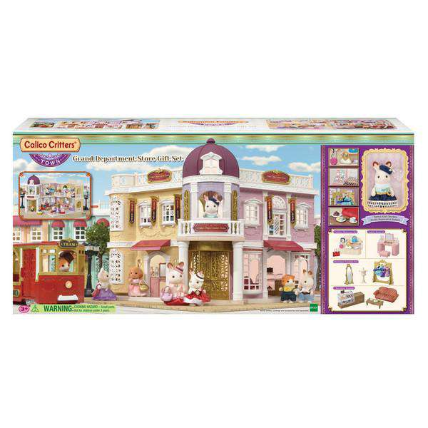 Calico Critters | Homes & Environments ~ Grand Department Store