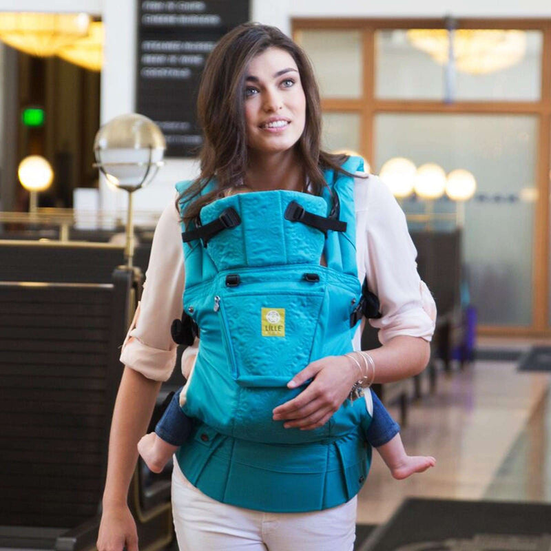 Lillebaby Carrier Complete Embossed Luxe | Teal