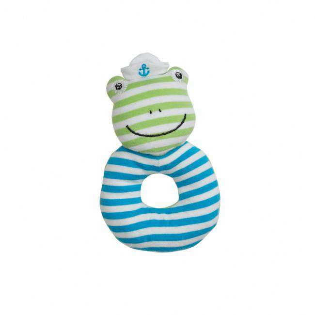 Apple Park Organic Farm Buddies Rattle | Skippy the Frog
