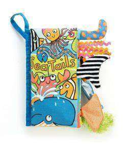 Jellycat  Sea Tails Book