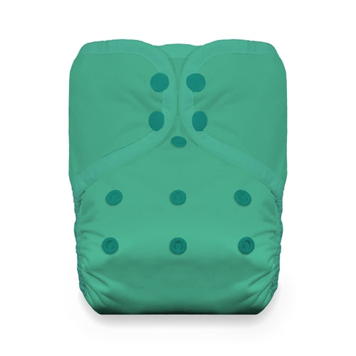Thirsties Seafoam ~ One Size Pockets (8-40lbs)