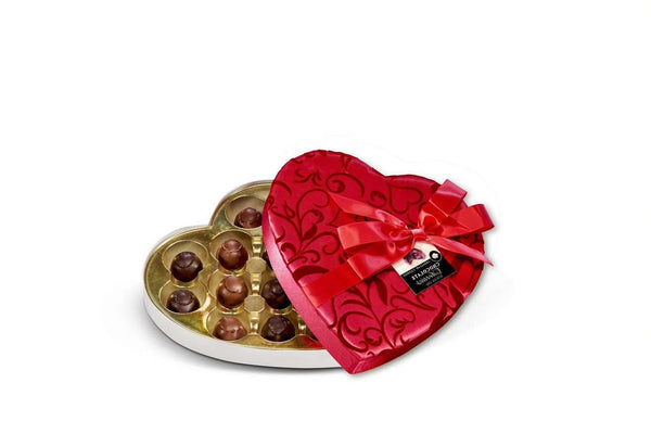 Abdallah Chocolate | Valentine's Day Selection ~ Chocolate Covered Cherries In Fancy Box *final sale*