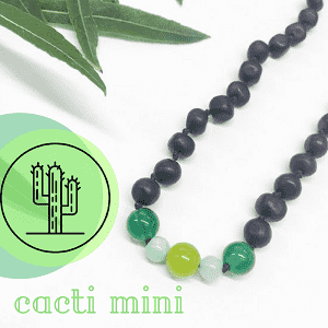 Healing Hazel | Baltic Amber Adult Necklace | Cacti Mini 18-20""