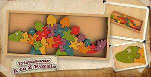 Begin Again Toys | Dinosaur A-Z Puzzle