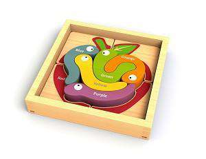 Begin Again Toys | Wooden Puzzle ~ Color Crawlers