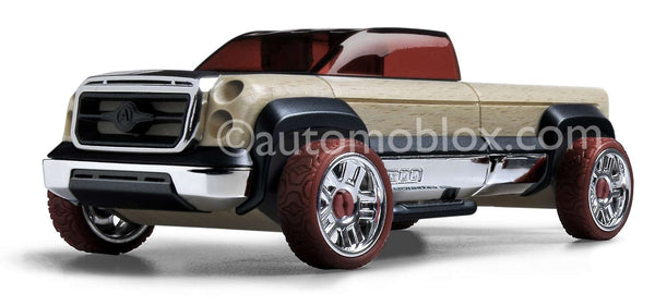 Automoblox | Mini Maroon T900 Truck