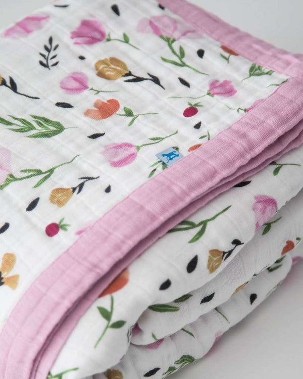 Little Unicorn | Big Kid Cotton Muslin Quilt ~ Berry & Bloom