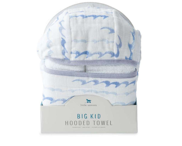 Little Unicorn Big Kid Hooded Towel | High Tide