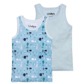 GroVia Unders | Tank Tops ~ Retro Cats
