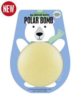 DaBomb Bath Fizzers | Coloring Changing Polar Bear Bomb