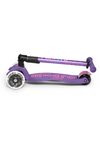 Micro Maxi Deluxe Folding LED Scooter | Purple