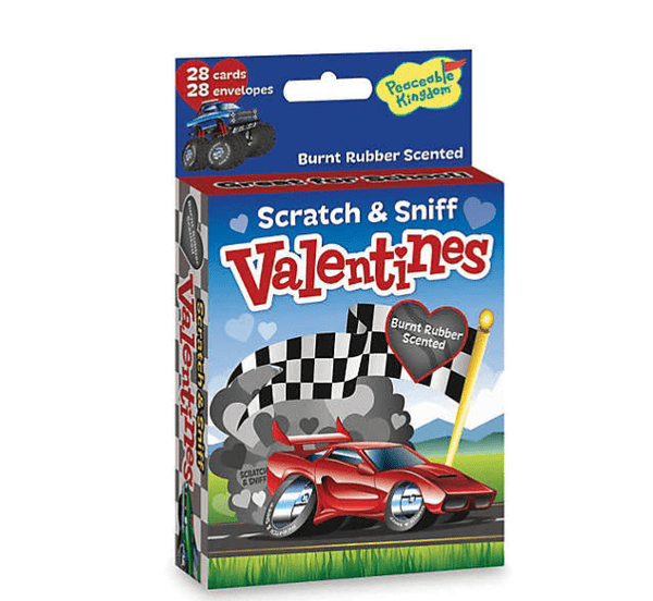 Peaceable Kingdom | Scratch & Sniff Valentines ~ Fun On Wheels