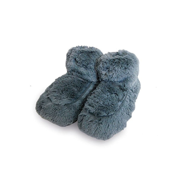 Warmies | Plush Body Boots ~ Slate Gray  (Fits Adult  Size 6-10)