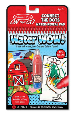 Melissa & Doug | On the GO Water WOW! | Farm Connect the Dots