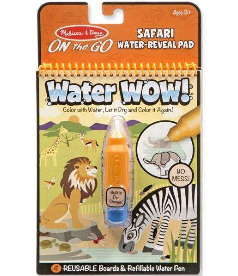 Melissa & Doug | On the GO Water WOW! | Safari Water-Reveal Pad