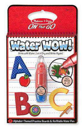 Melissa & Doug | On the GO Water WOW! | Alphabet