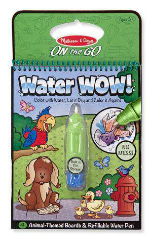 Melissa & Doug | On the GO Water WOW! | Animals