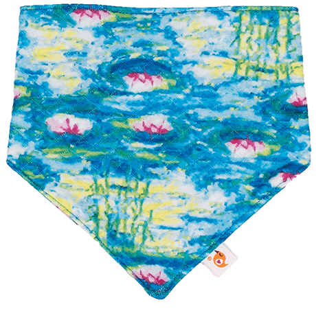 Smart Bottoms | Bandana Bib ~ Water Lillies