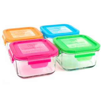 Wean Green Lunch Cubes | Pack of 4