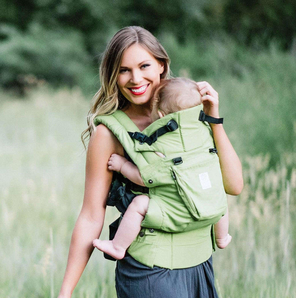 Lillebaby Carrier Organic | Green Meadow