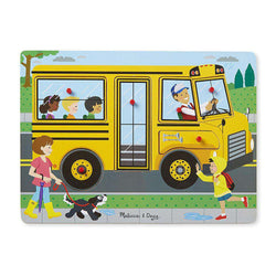 Melissa & Doug | Sound Puzzle | Wheels on the Bus