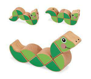 Melissa & Doug | Wiggling Worm Grasping Toy