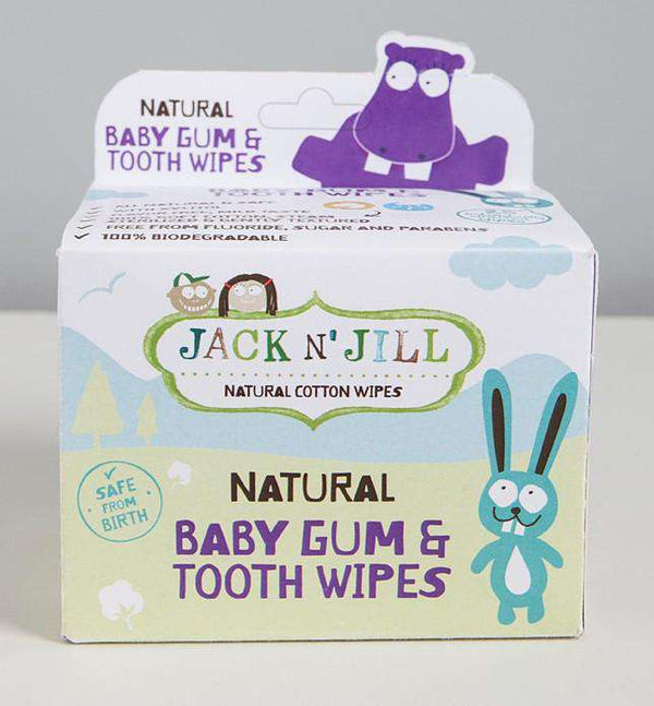 Jack n Jill Natural Baby Gum & Tooth Wipes