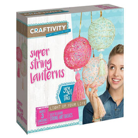 Craftivity | Super String Lanterns
