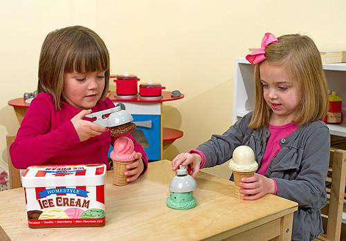 Melissa & Doug | Scoop and Stack Ice Cream Set