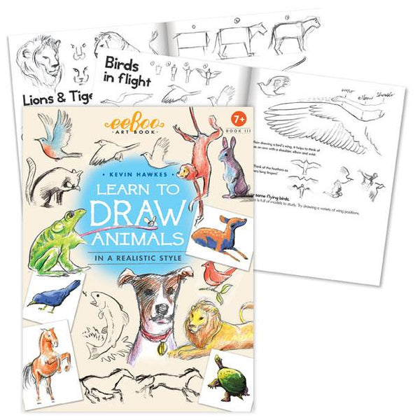 Learn to Draw Animals Art Book
