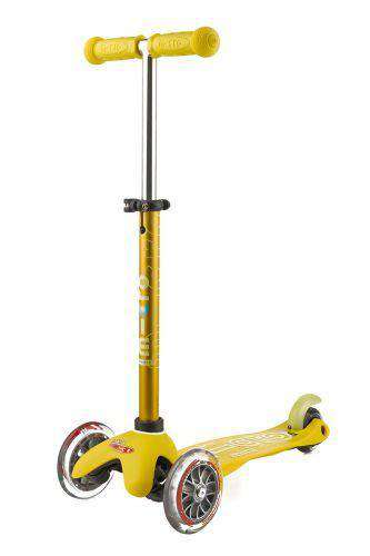 Micro Mini Deluxe Scooter | Yellow