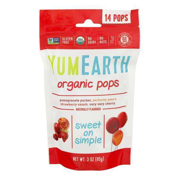 YumEarth | Organic Pops 14 Ct ~ Assorted Flavors