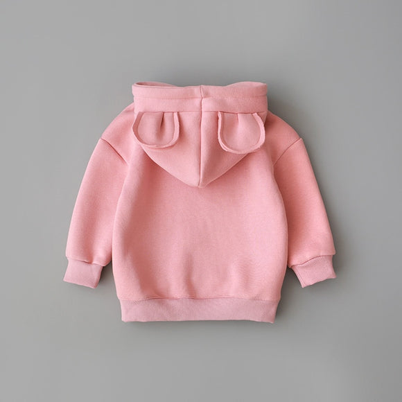 Baby Boys Girls Clothes Cotton Hooded Sweatshirt