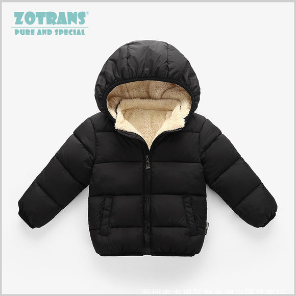 Baby Coat Boys Winter Jackets For Children Winter  Outerwear Hooded Infant Coats Newborn Clothes Kids Snowsuit Thicken