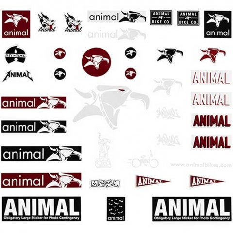 Animal Sticker Pack - LEGEND BIKES USA