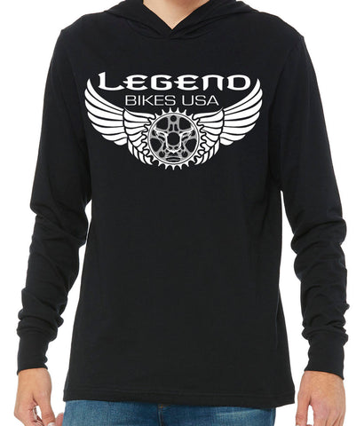 Classic Legend bikes USA Summer Hoodie - LEGEND BIKES USA