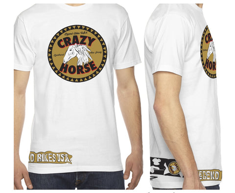 Crazy Horse T-Shirt - LEGEND BIKES USA