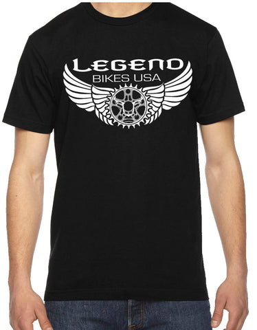 Classic  Legend Bikes T-Shirt - LEGEND BIKES USA
