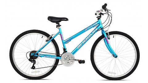 "BIKE SHOGUN TRAIL BLASTER SPORT 26"" LADIES *STORE PICK UP ONLY ASSEMBLED - LEGEND BIKES USA"