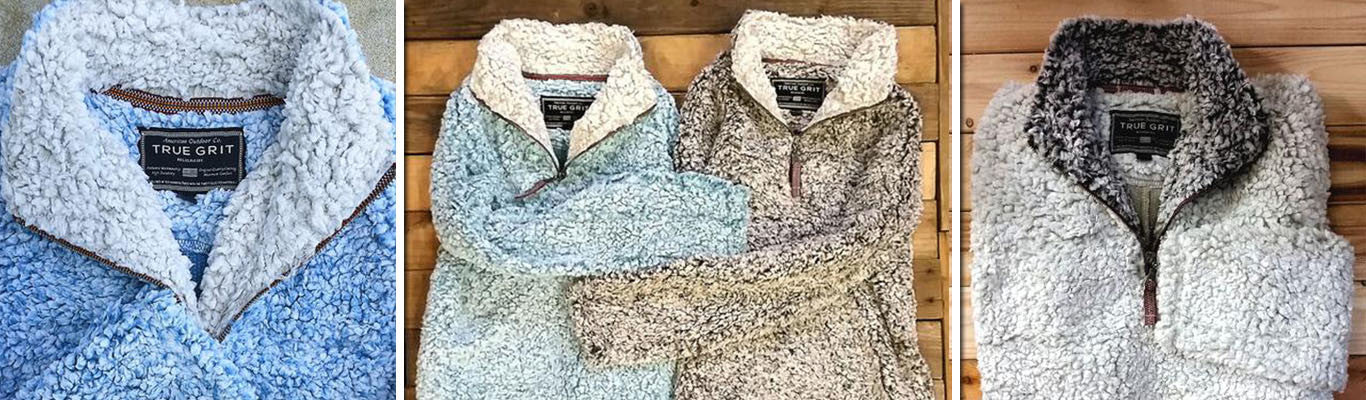 TRUE GRIT Pullovers have Arrived at Tide & Peak Outfitters