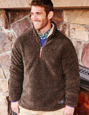 Appalachian Pile Pullover 1/4 Zip by Southern Marsh