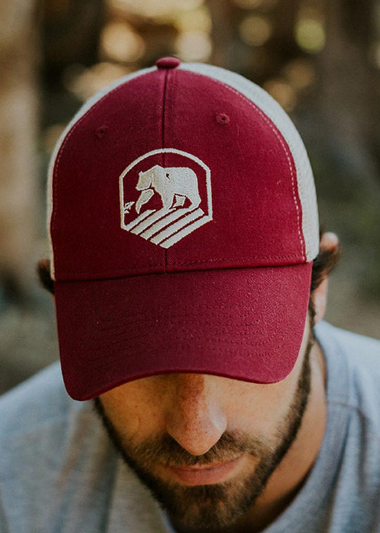 Bear Crest Activewear Trucker Hat by The Normal Brand