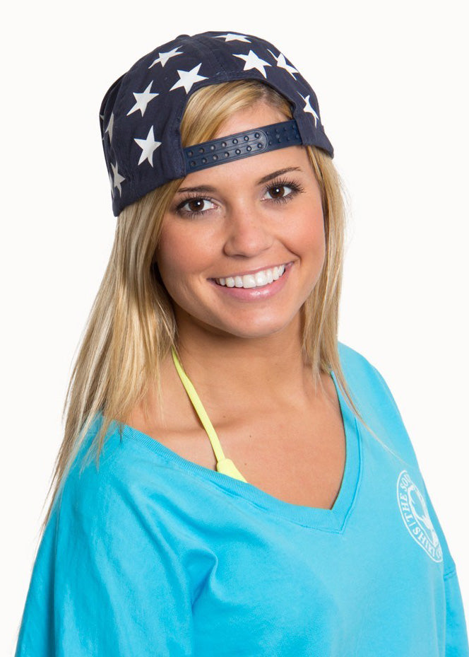 America Snapback Hat in Red, White and Blue by The Southern Shirt Co.