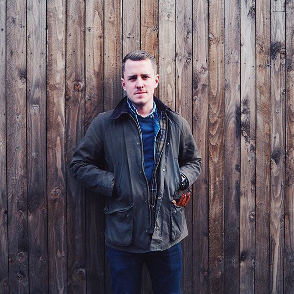 Ashby Waxed Jacket Barbour Tide And Peak Outfitters