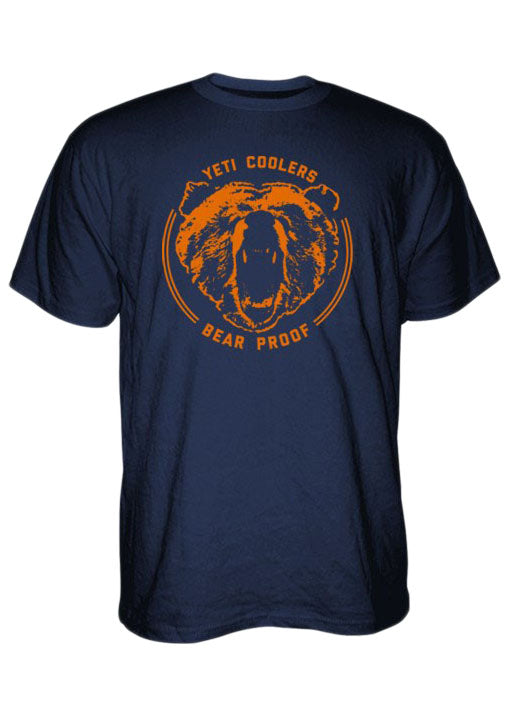 Bear Proof Tee Shirt in Navy by YETI