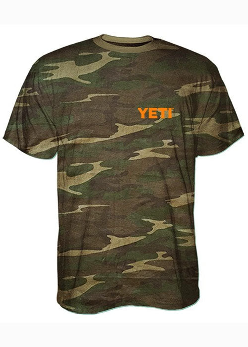 Built for the Wild Tee Shirt in Camo by YETI