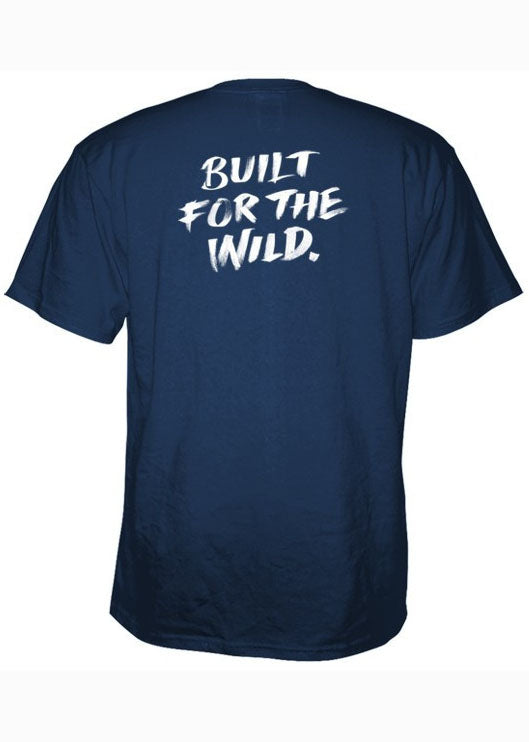 Built for the Wild Pocket Tee Shirt in Navy by YETI