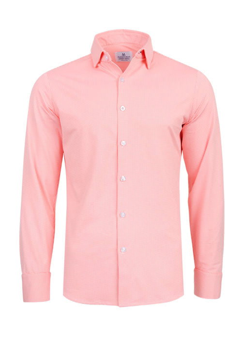 "The ""Captiva"" Button Down in Bright Coral by Mizzen+Main"