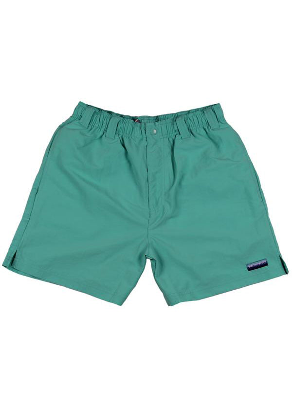 Chillaxer Shorts in Mint Green by Waters Bluff Clothing